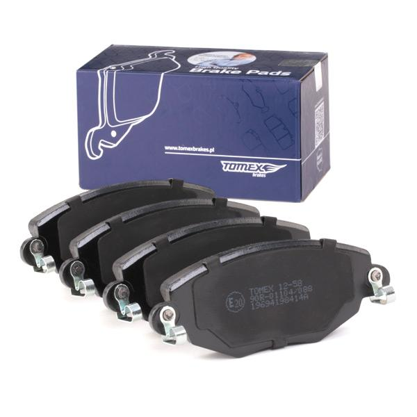 TOMEX brakes | Bremsbelagsatz, Scheibenbremse TX 12-58