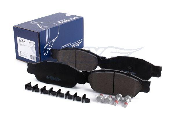 FORD USA THUNDERBIRD 2003 Scheibenbremsbeläge - Original TOMEX brakes TX 16-92 Höhe: 58mm, Breite: 163,3mm, Dicke/Stärke: 17,8mm