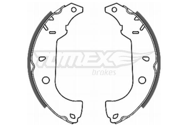 2026 TOMEX brakes Hinterachse, Ø: 228mm Breite: 42mm Bremsbackensatz TX 20-26 günstig kaufen