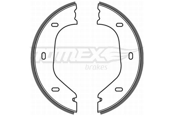 ALFA ROMEO GIULIETTA 1980 Bremsklötze für Trommelbremse - Original TOMEX brakes TX 21-21 Breite: 25mm