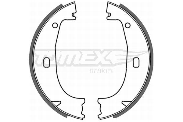 OE Original Bremsbackensatz für Trommelbremse TX 21-23 TOMEX brakes