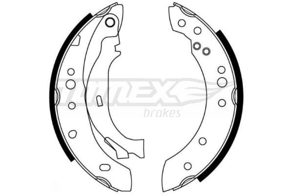 TOMEX brakes Bremsbackensatz TX 21-27