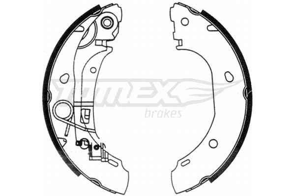 TOMEX brakes Bremsbackensatz TX 21-31