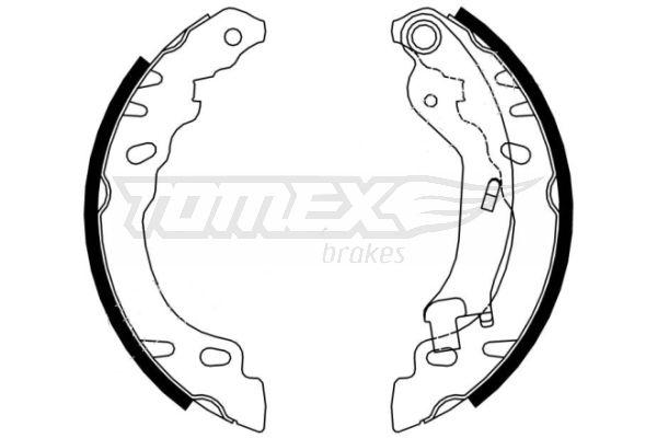 TOMEX brakes Bremsbackensatz TX 21-61