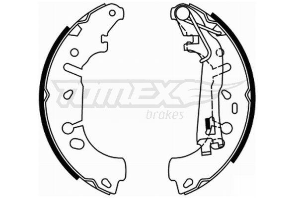 Original OPEL Bremsklötze für Trommelbremse TX 21-85