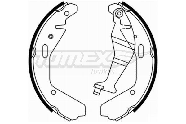 TOMEX brakes Bremsbackensatz TX 21-94