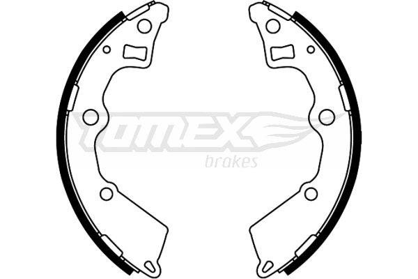 Original KIA Bremsbacken TX 22-25