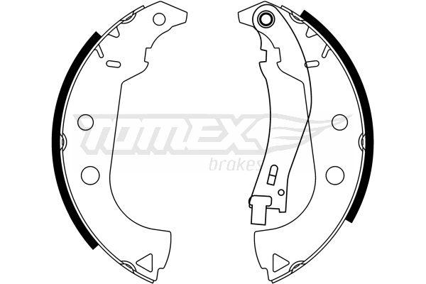 Original FIAT Bremsklötze für Trommelbremse TX 23-15