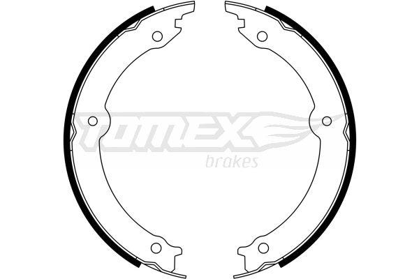 TOMEX brakes: Original Trommelbremsen TX 23-33 (Breite: 35mm)