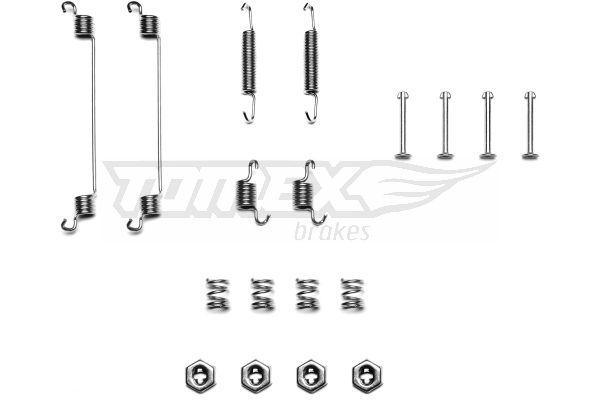 Zubehörsatz Bremsbacken DELPHI LY1112