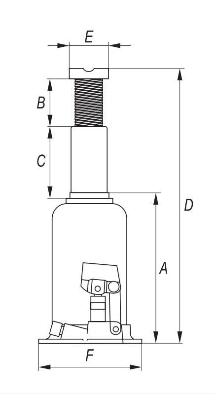 YT-17003 Krik YATO - Goedkope merkproducten