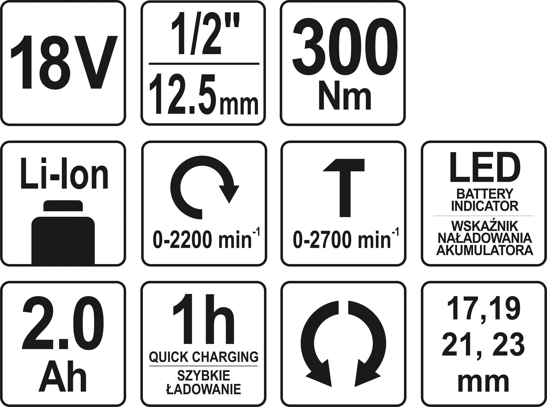 YT-82804 Luftnøgle YATO - Billige mærke produkter