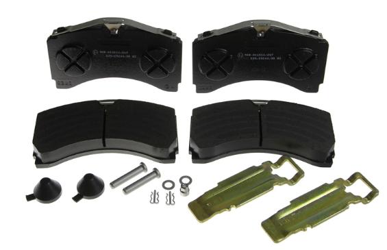 Bremsbelagsatz Scheibenbremse KNORR-BREMSE K035472K50