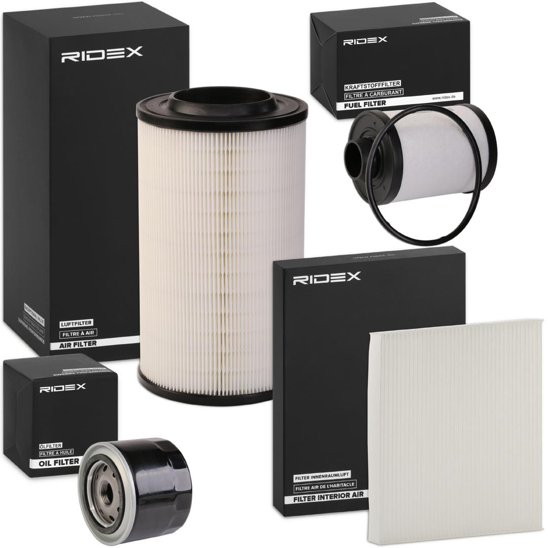 Filter set 4055F0175 RIDEX — only new parts