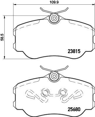 Achetez Tuning HELLA 8DB 355 023-071 (Hauteur: 58,5mm, Largeur: 109,9mm, Épaisseur: 18,5mm) à un rapport qualité-prix exceptionnel