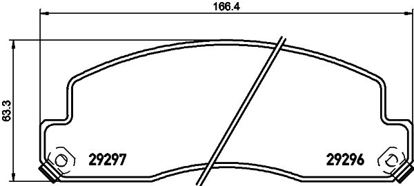 FRONT 04465-36020 DISC BRAKE 0446536020 Genuine Toyota PAD KIT