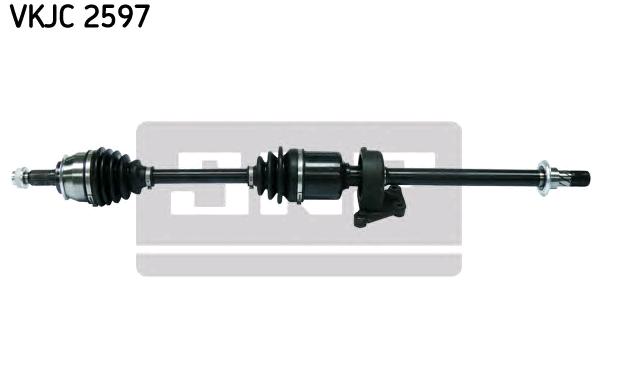 SKF: Original Antriebswellen & Gelenke VKJC 2597 (Länge: 918mm, Außenverz.Radseite: 26)