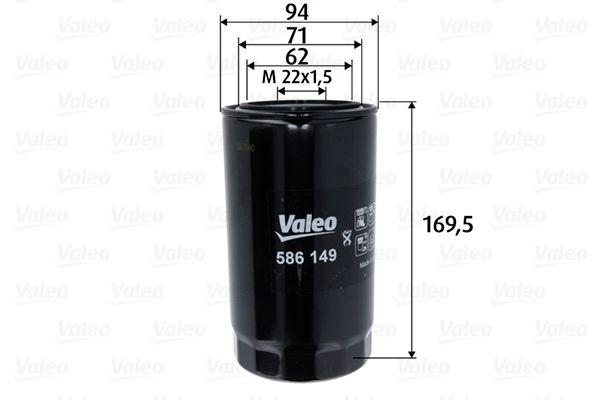 IVECO Filtre à huile d'Origine 586149