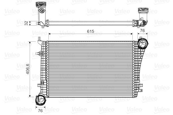 Original Intercooler 818675 Volkswagen