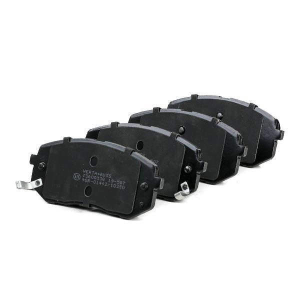 J3600338 Bremsbeläge HERTH+BUSS JAKOPARTS J3600338 - Große Auswahl - stark reduziert