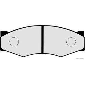 Sada brzdových destiček, kotoučová brzda J3601011 pro NISSAN 300 ZX ve slevě – kupujte ihned!