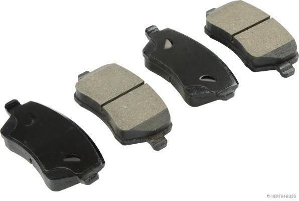 J3601085 HERTH+BUSS JAKOPARTS mit Anti-Quietsch-Blech Höhe 1: 52,2mm, Breite 1: 116,5mm, Dicke/Stärke 1: 17,3mm Bremsbelagsatz, Scheibenbremse J3601085 günstig kaufen