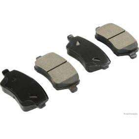 J3601085 HERTH+BUSS JAKOPARTS mit Anti-Quietsch-Blech Breite 1: 52,2mm, Dicke/Stärke 1: 17,3mm Bremsbelagsatz, Scheibenbremse J3601085 günstig kaufen