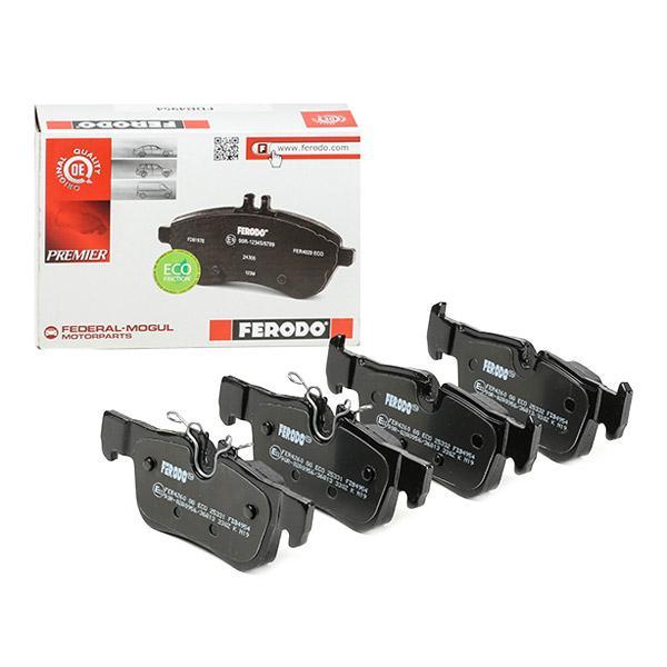 FDB4954 FERODO Bremsbelagsatz, Scheibenbremse Bewertung