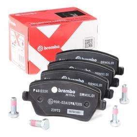P 68 033X Bremsbelagsatz BREMBO - Markenprodukte billig