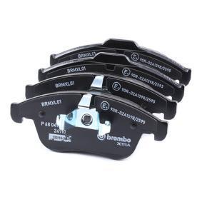 P68047X Bremsbelagsatz, Scheibenbremse BREMBO XTRA LINE BREMBO 24710 - Große Auswahl - stark reduziert