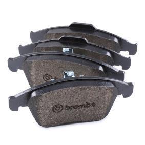 P 68 047X Bremsbelagsatz, Scheibenbremse BREMBO - Markenprodukte billig