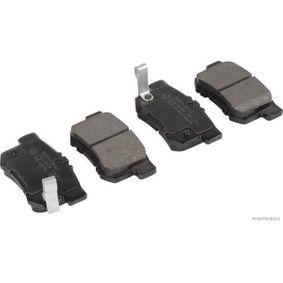 J3614009 HERTH+BUSS JAKOPARTS mit akustischer Verschleißwarnung Breite 1: 47,6mm, Dicke/Stärke 1: 14,6mm Bremsbelagsatz, Scheibenbremse J3614009 günstig kaufen
