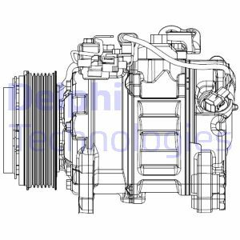 Kompressor Klimaanlage CS20501 BMW 5er 2012