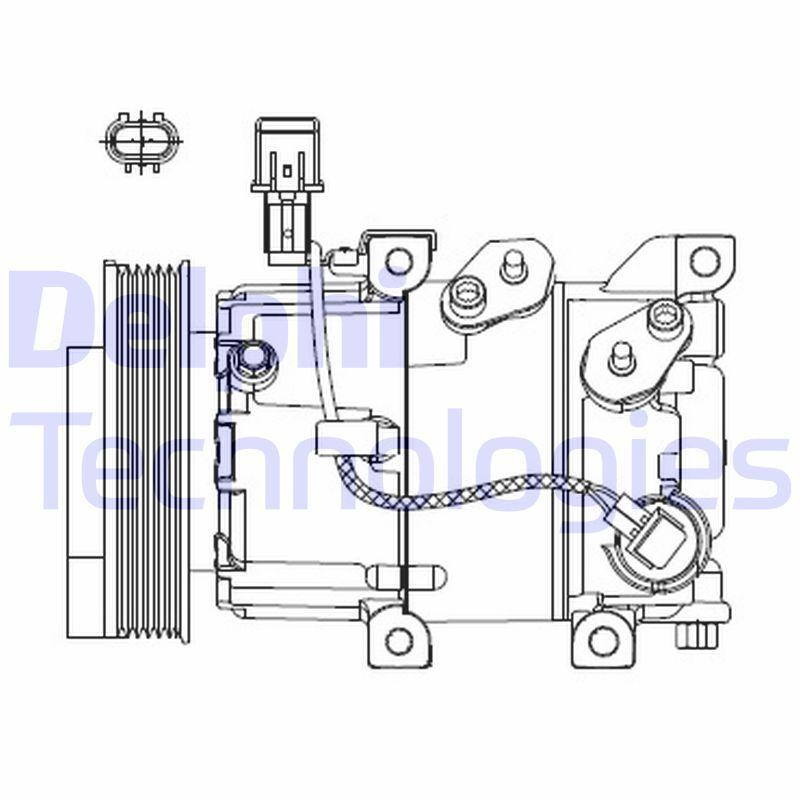 Original KIA Kompressor CS20518