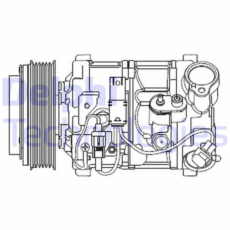 Kompressor CS20545 BMW 5er 2012