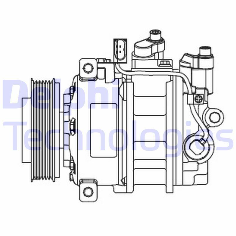 Kompressor Klimaanlage DELPHI CS20546