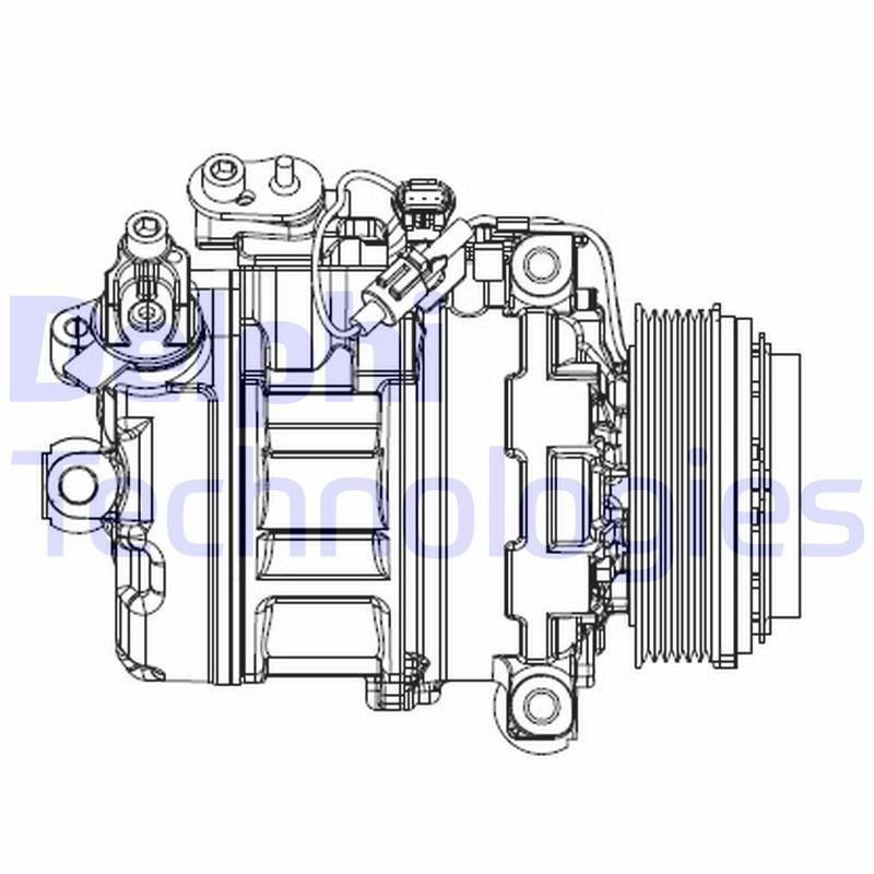 Kompressor, Klimaanlage DELPHI CS20547 Bewertungen