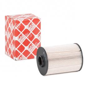 Pirkti 104338 FEBI BILSTEIN filtro įdėklas, su sandarikliu aukštis: 113mm Kuro filtras 104338 nebrangu