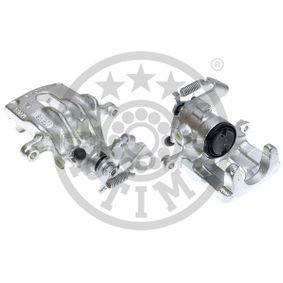 20961 OPTIMAL Hinterachse Breite: 52,74mm, Dicke/Stärke: 17,2mm Bremsbelagsatz, Scheibenbremse BP-09540 günstig kaufen