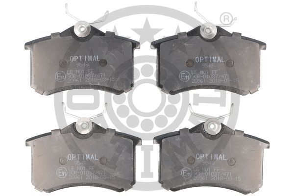 OE Original Bremsbelagsatz Scheibenbremse BP-09548 OPTIMAL