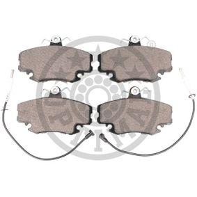 BP09870 Bremsbeläge OPTIMAL BP-09870 - Große Auswahl - stark reduziert
