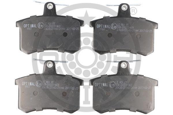 Bremsbelagsatz Scheibenbremse OPTIMAL BP-09907