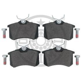 BP10066 Bremsbelagsatz, Scheibenbremse OPTIMAL BP-10066 - Große Auswahl - stark reduziert