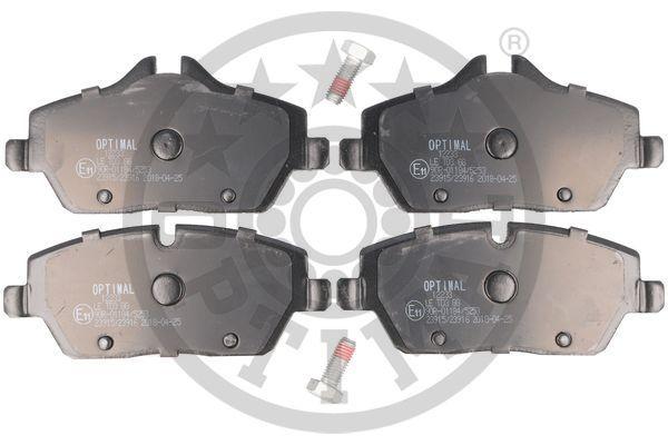 Bremsbelagsatz OPTIMAL BP-12233