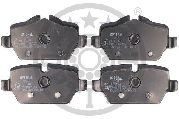 Bremsbelagsatz OPTIMAL BP-12235