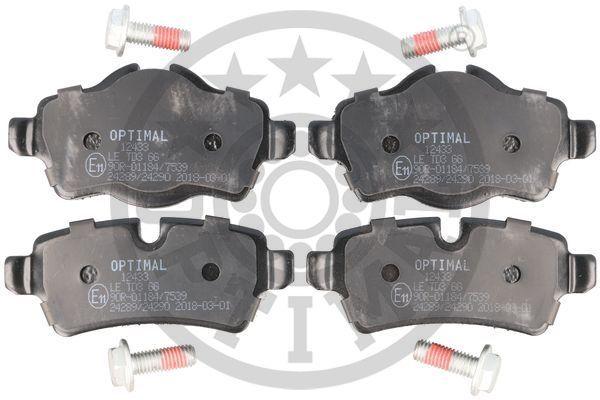 Bremsklötze OPTIMAL BP-12433