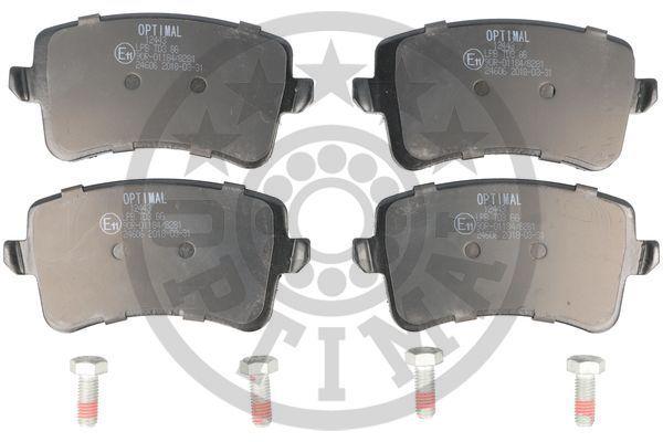 Bremsbelagsatz OPTIMAL BP-12443