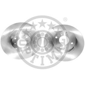 BS-6350C OPTIMAL Vorderachse, Voll, beschichtet Ø: 247mm, Bremsscheibendicke: 12mm Bremsscheibe BS-6350C günstig kaufen