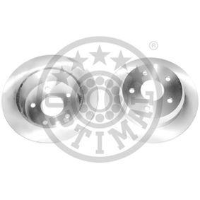 BS-6380C OPTIMAL Hinterachse, Voll, beschichtet Ø: 305mm, Bremsscheibendicke: 10mm Bremsscheibe BS-6380C günstig kaufen