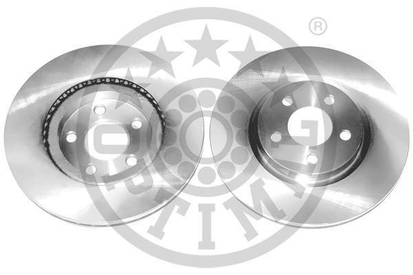 BS-6470HC OPTIMAL Vorderachse, belüftet, beschichtet, hochgekohlt Ø: 280mm, Bremsscheibendicke: 23mm Bremsscheibe BS-6470HC günstig kaufen